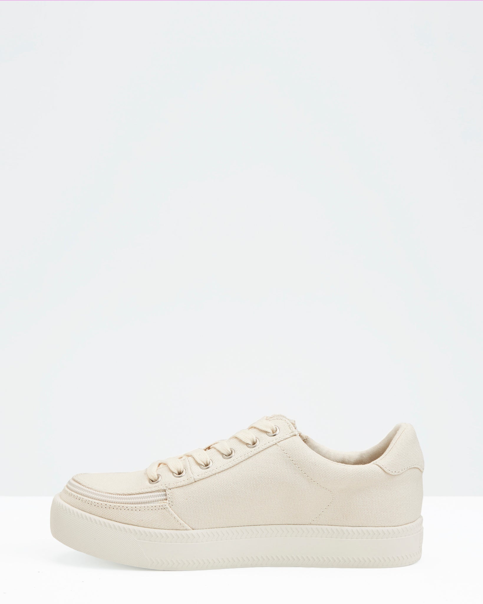 Classic Low-Rise Canvas Sneaker (Men) - Natural