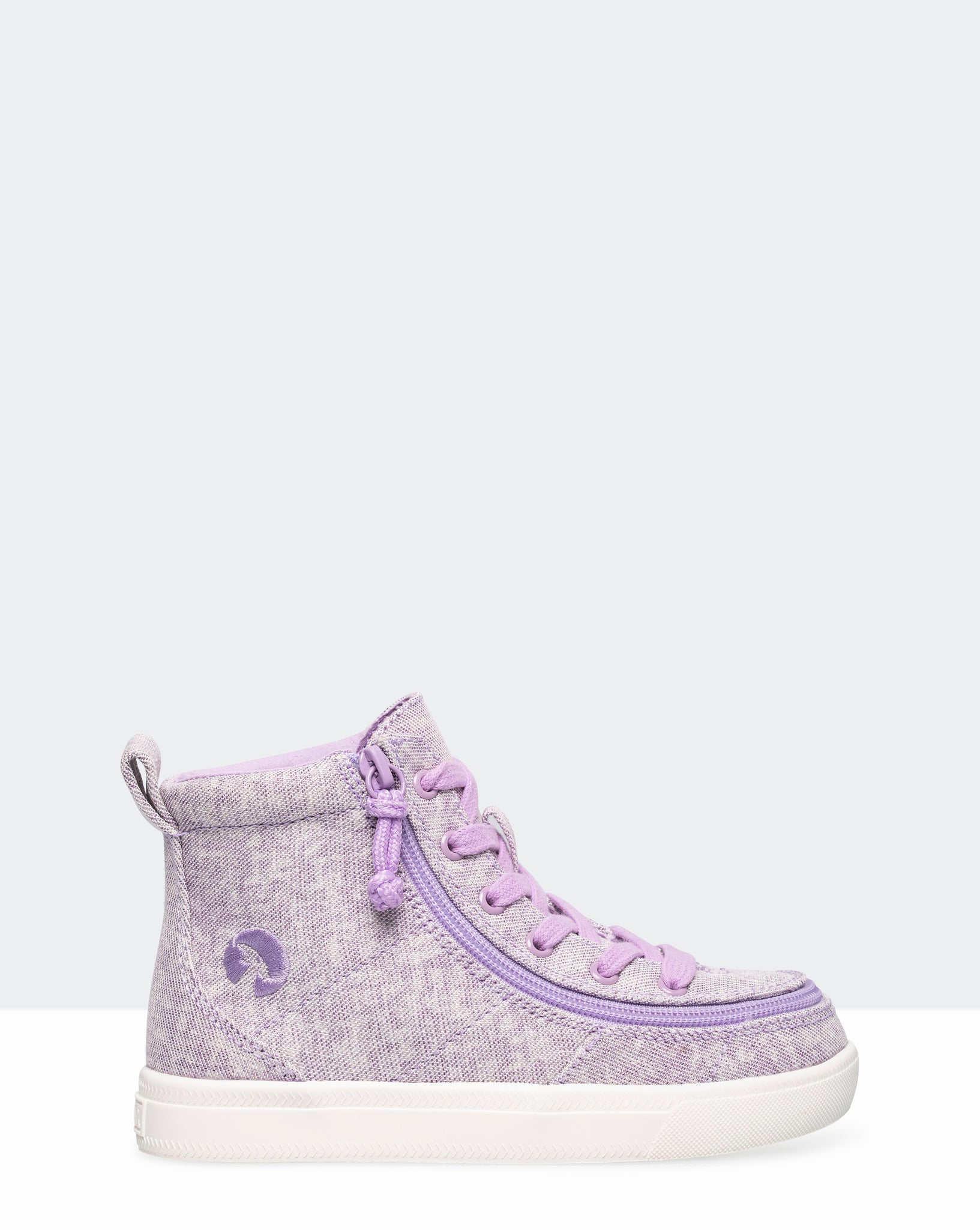 Classic High-Top Canvas Sneaker (Toddler) - Lilac