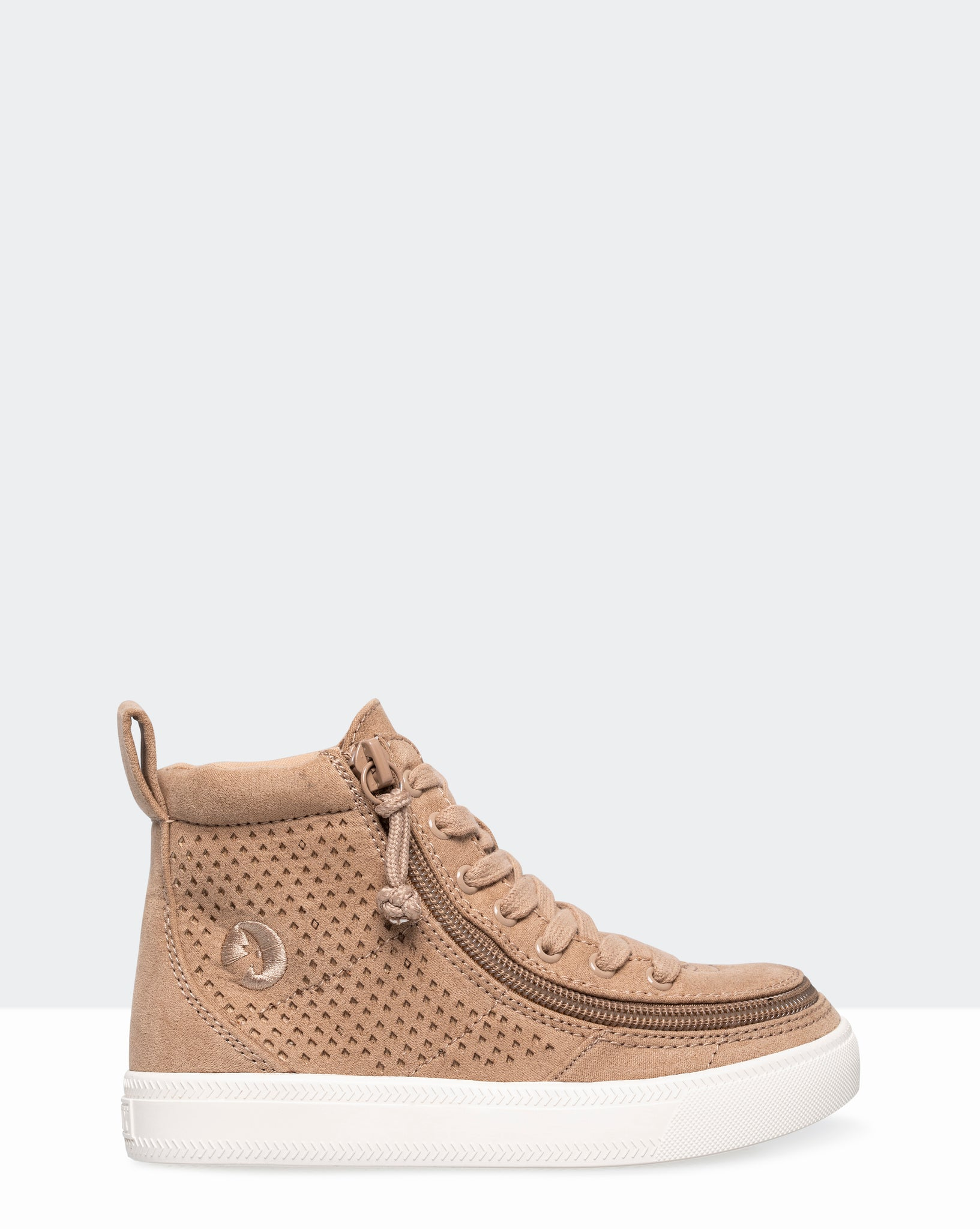 Classic High-Top Perf-Faux Leather Sneaker (Toddler) - Tan