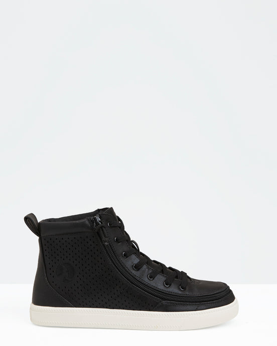 Classic High-Top Faux Leather Sneaker (Women)