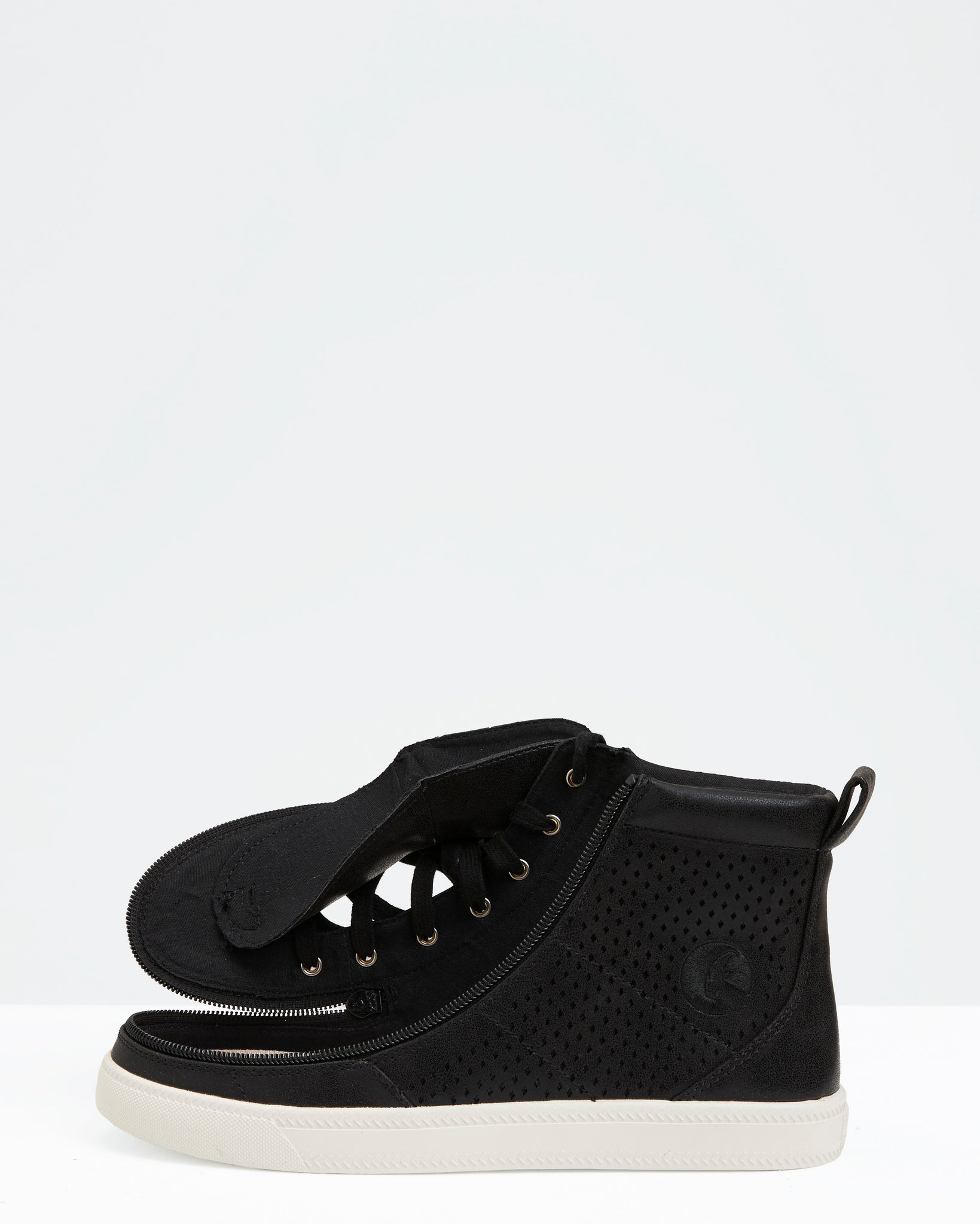 Classic High-Top Faux Leather Sneaker