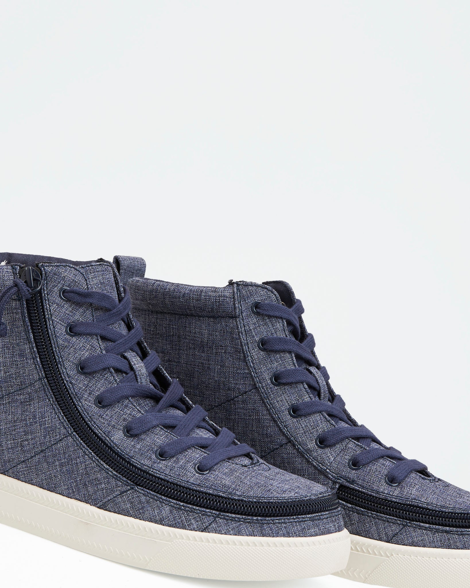 Classic High-Top Chambray Sneaker (Women) - Navy Jersey