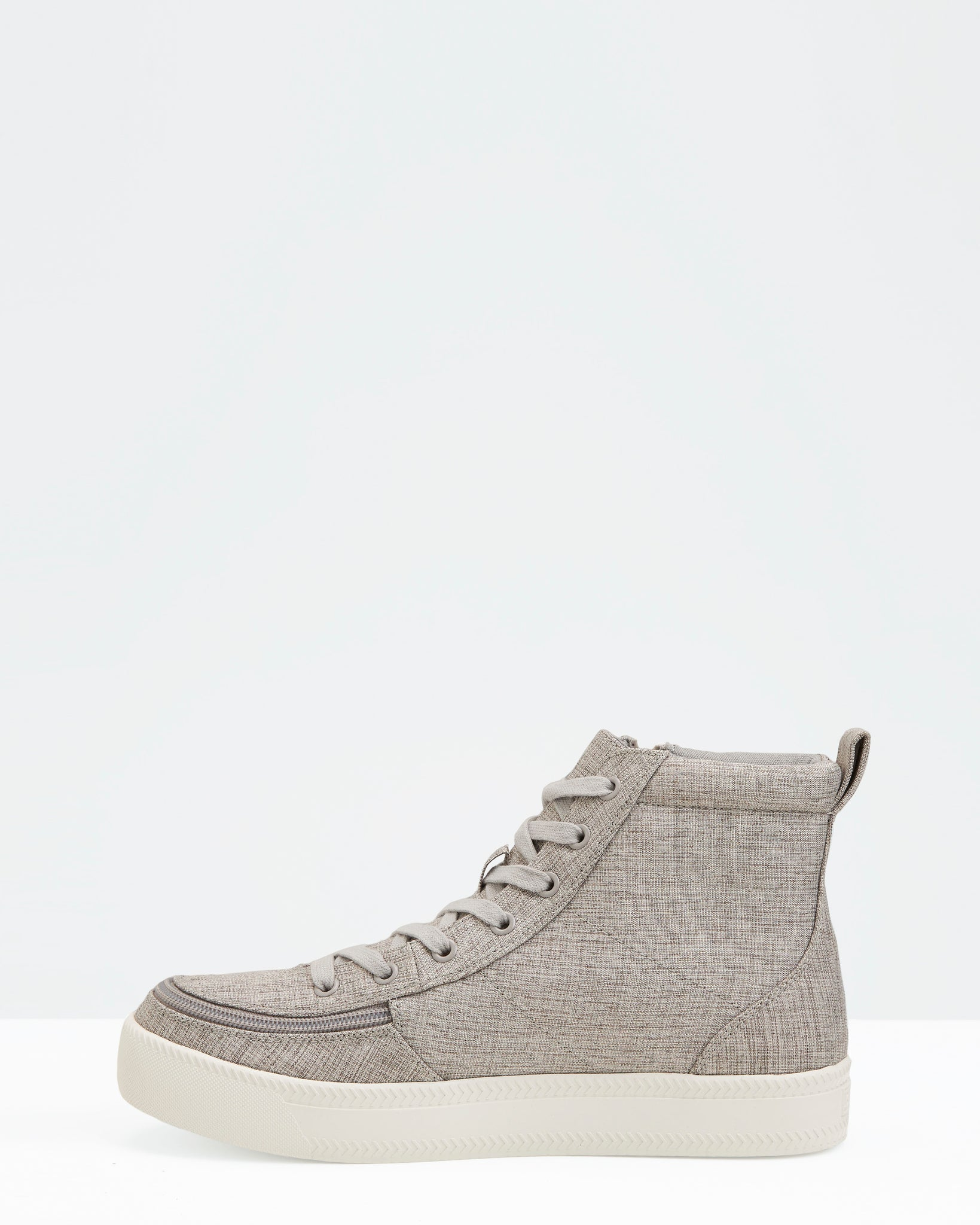 Classic High-Top Chambray Sneaker (Women) - Grey Jersey