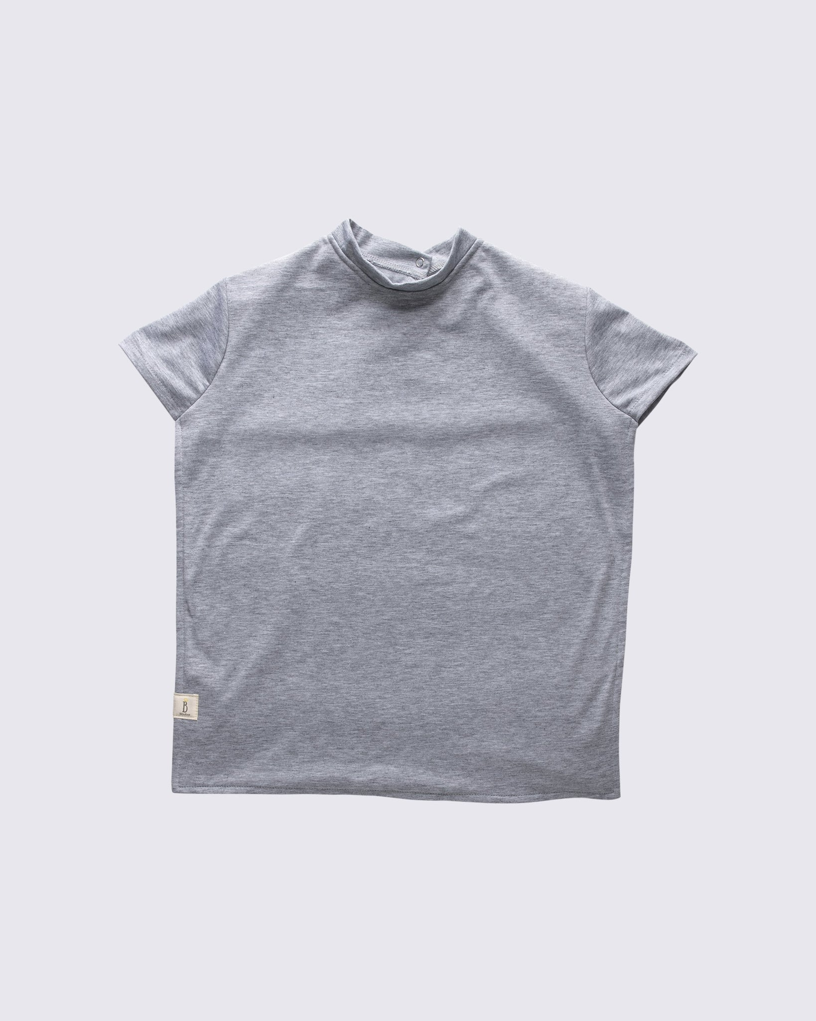 T-shirt Bib - Grey