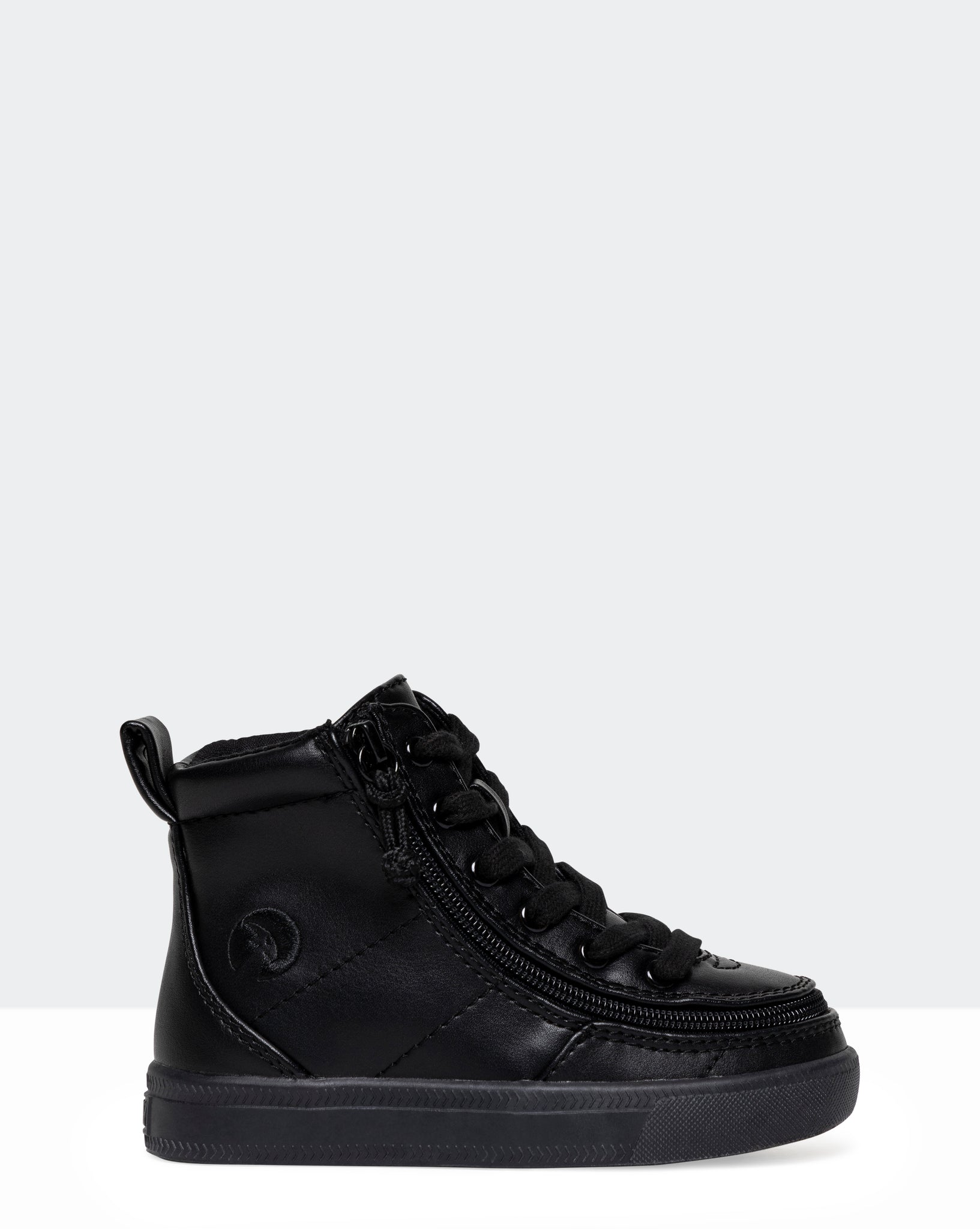 Classic High-Top Faux Leather Sneaker (Toddler)
