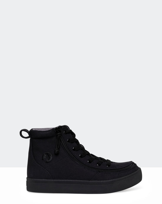 Classic High-Top Canvas Sneaker (Men) - Black to the Floor