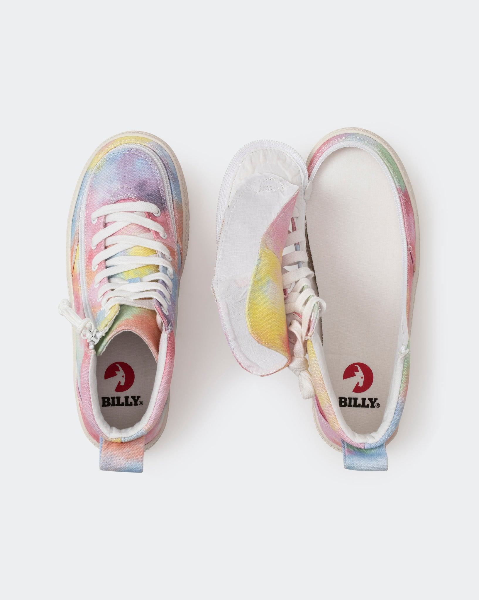 Classic High-Top Canvas Sneaker (Little Kid/Big Kid) - Sherbert Tie Dye