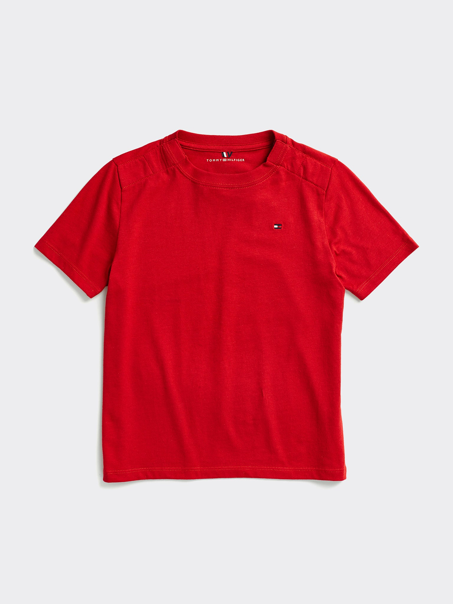 Tommy Crew Tee (Boys) - Red