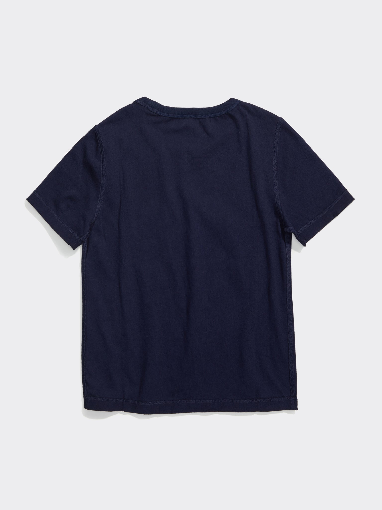 Shaggy Tee (Boys) - Navy