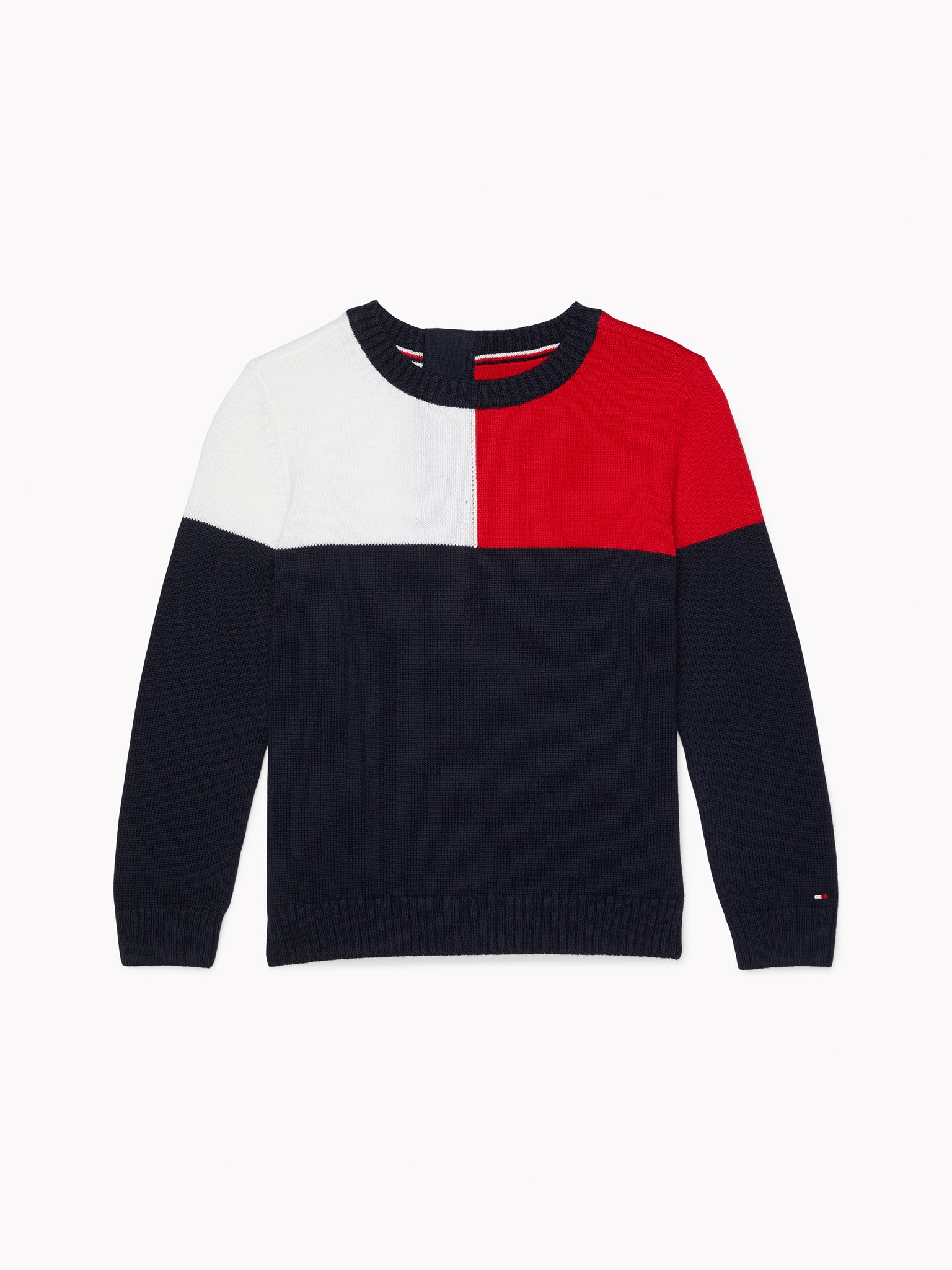 Seated TH Sweatshirt (Boys) - Navy/White/Red