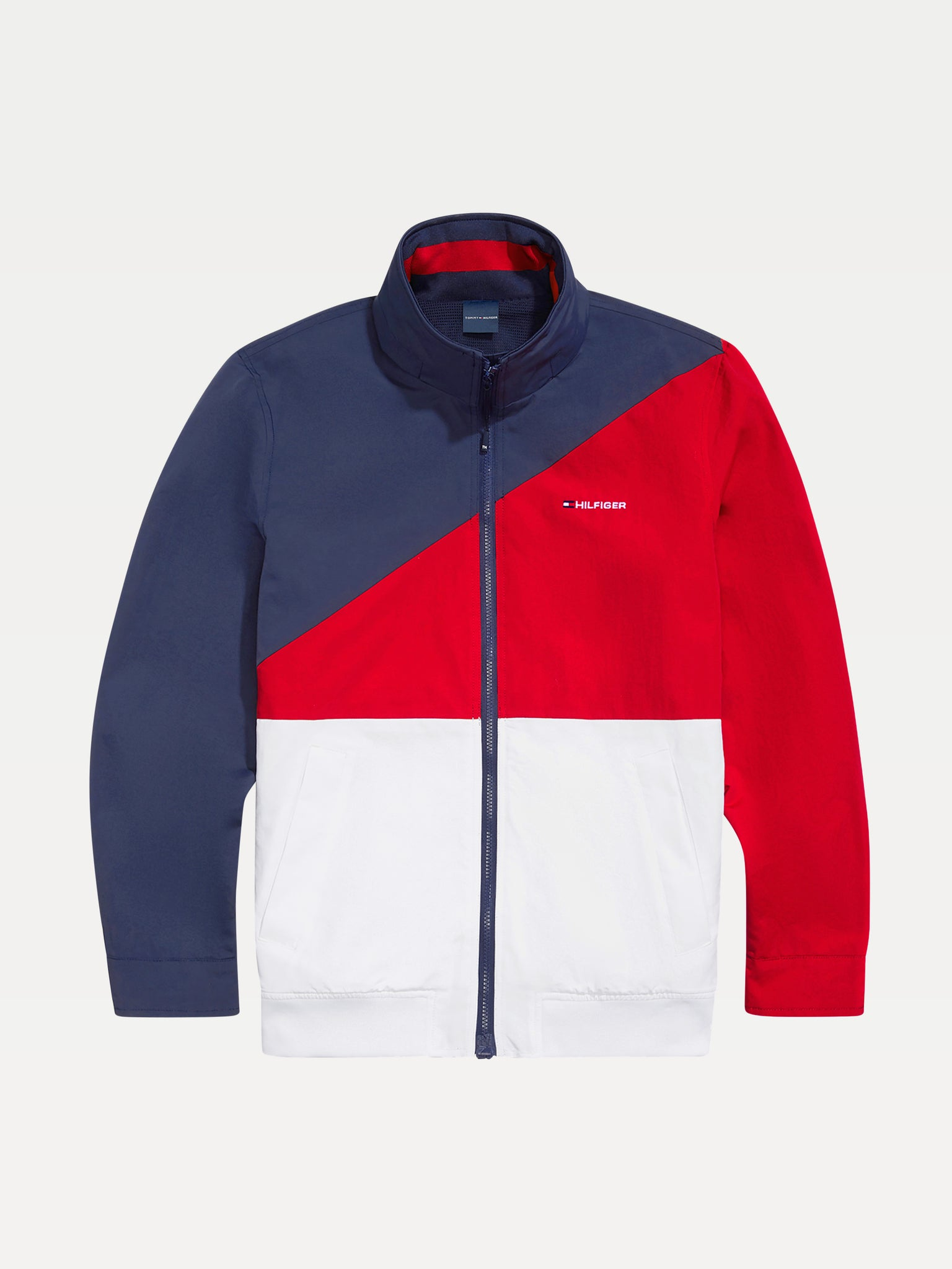 Block Yatch Jacket - Navy/White