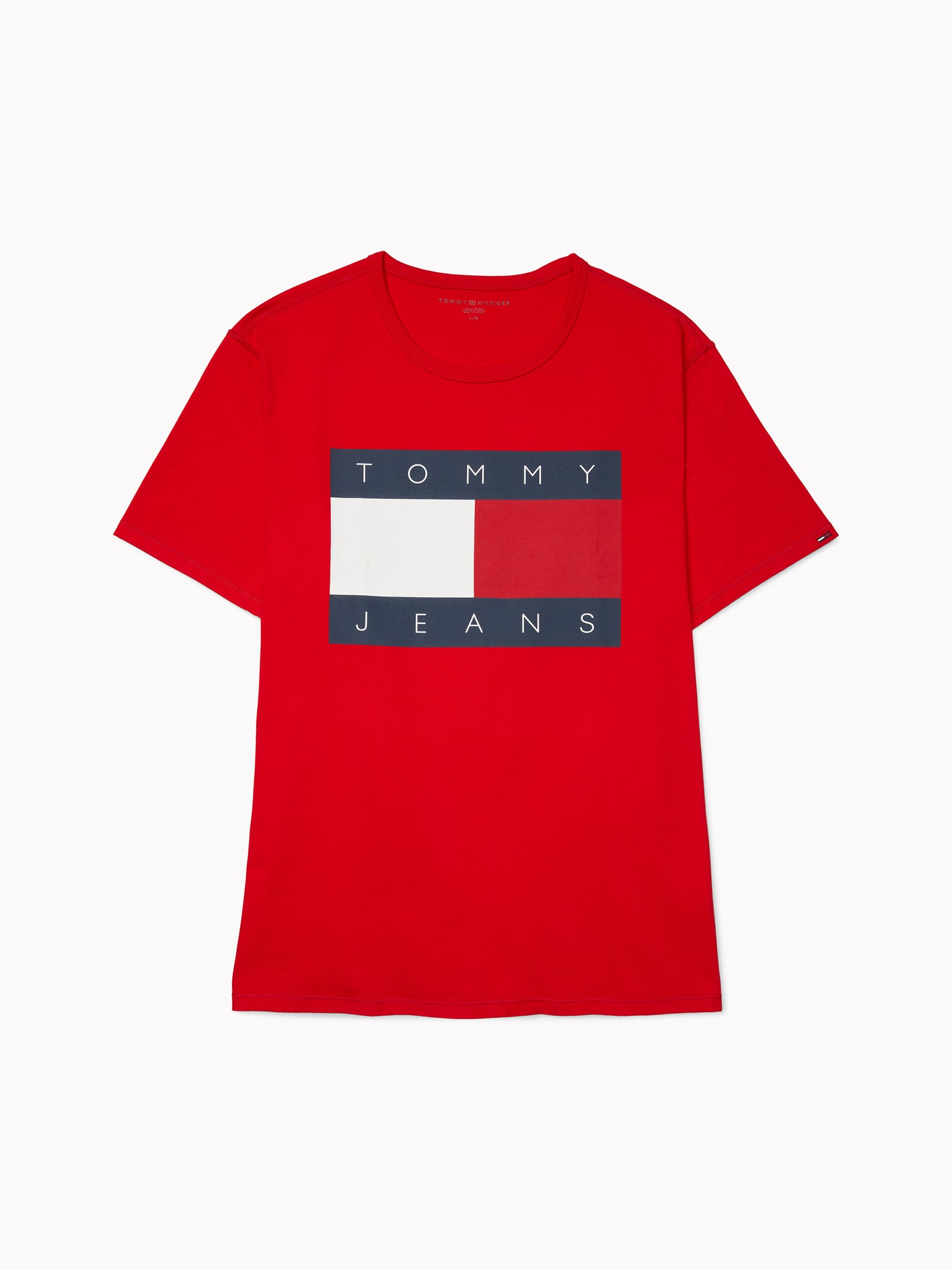 Tommy Flag T-Shirt - Red