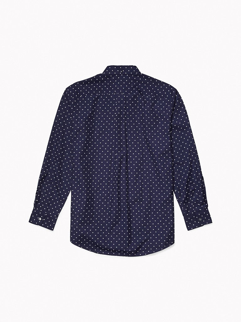 Hunter Leaf Shirt - Navy