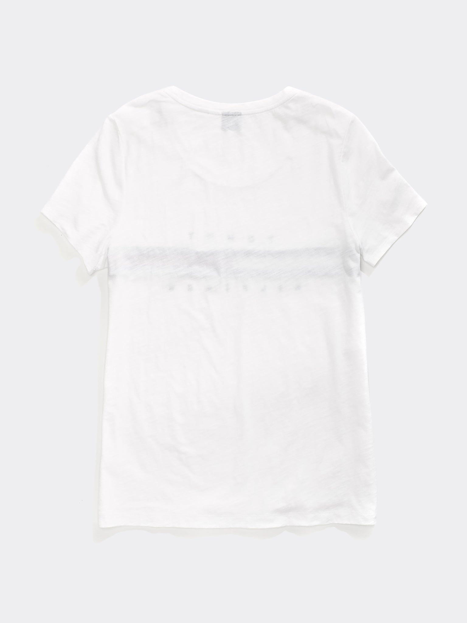 Tommy Stripe Crew Tee - White