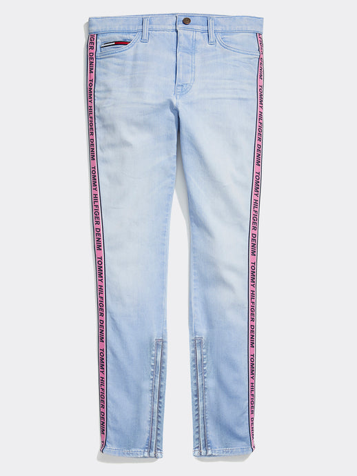 Tommy Tape Jeans - Light Wash