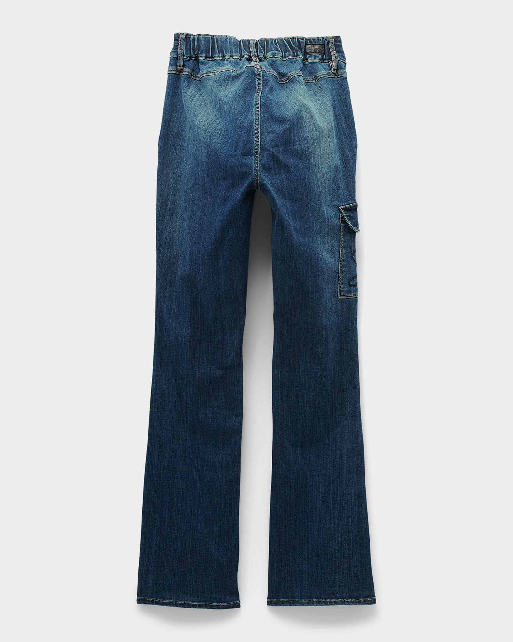Seated Tummyless Boot Cut Jean