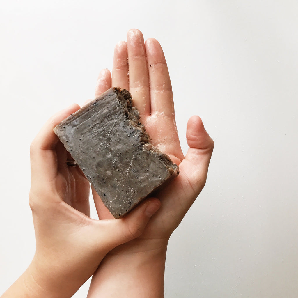 Coffee Scrub Bar Soap