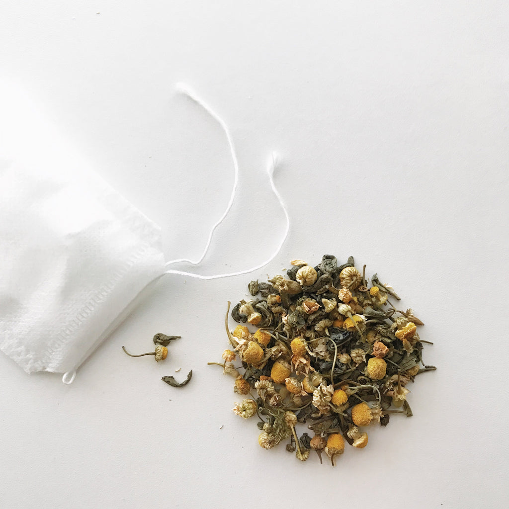Coconut Chamomile Green Tea