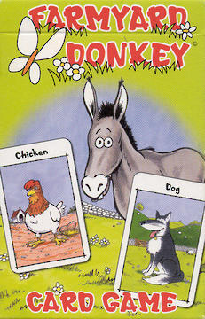 Children's Card Game - Farmyard Donkey