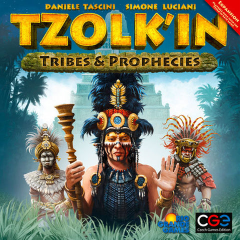 Tzolkin - Tribes & Prophecies Expansion