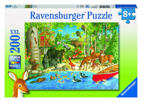 Ravensburger Woodland Friends Puzzle (200pc)