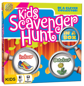 Kids Scavenger Hunt in a Box Card Game