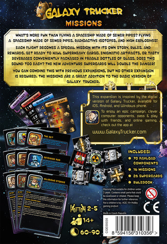 Galaxy Trucker: Missions - Game expansion