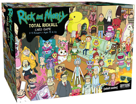 Rick and Morty: Total Rickall - Cooperative Card Game
