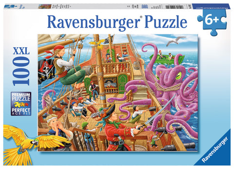 Ravensburger: Pirate Boat Adventure - 100pc Puzzle