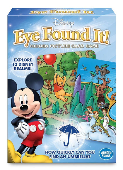 Disney: Eye found It - Hidden Picture Card Game