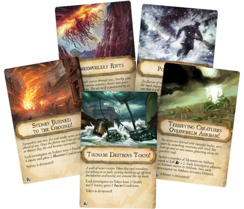 Eldritch Horror: Cities in Ruin - Expansion Set