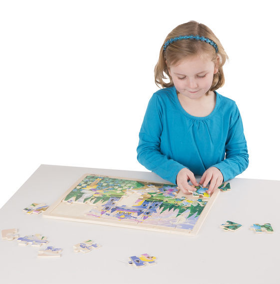 Melissa & Doug: Fairy Fantasy Jigsaw Puzzle - 48 Pieces