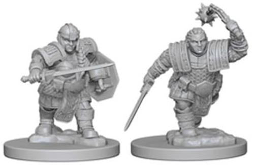 D&D Nolzur's Marvelous: Unpainted Minis - Dwarf Female Fighter