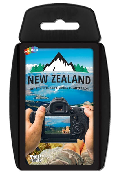 Top Trumps - New Zealand