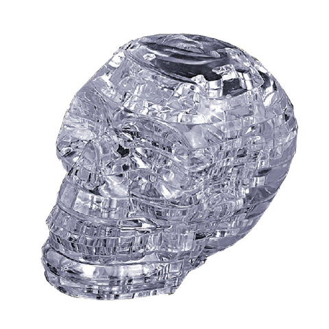 Crystal Puzzle: Clear Skull