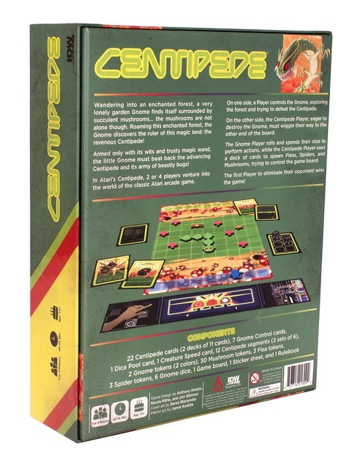 Atari: Centipede - The Board Game