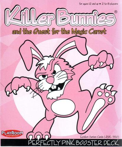 Killer Bunnies - Quest Perfectly Pink Booster Pack