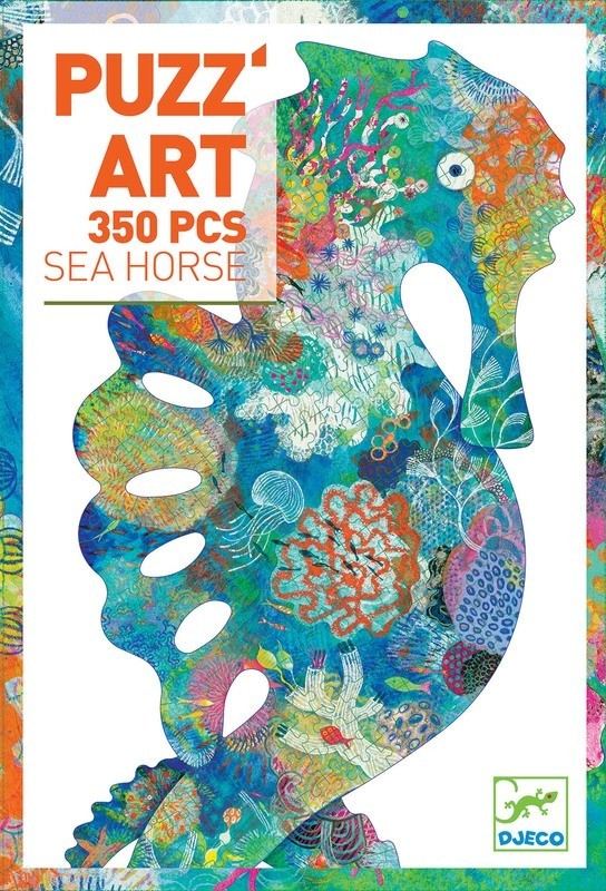 Djeco: Puzz'Art Sea Horse