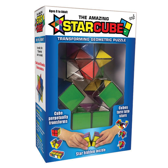 California Creations: The Amazing Star Cube - Transforming Geometric Puzzle