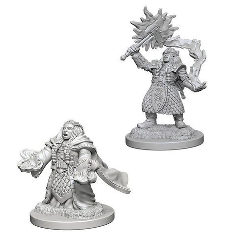 D&D Nolzurs Marvelous: Unpainted Miniatures - Dwarf Female Cleric