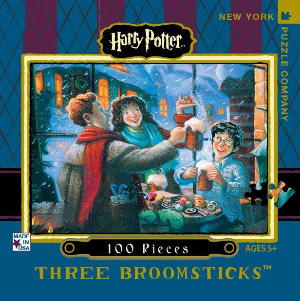 Harry Potter: 100 Piece Mini Puzzle - Three Broomsticks (100 Piece)
