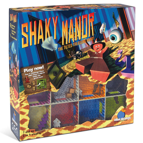 Blue Orange Games: Shaky Manor - The Tilted Treasure Game