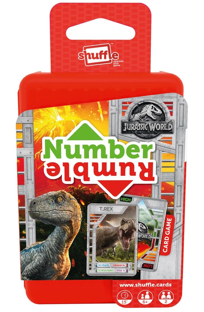 Jurassic World Shuffle: Number Rumble - Card Game