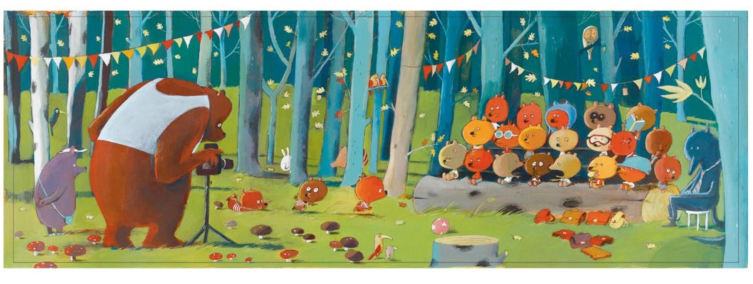 Djeco: 100pc Gallery Puzzle - Forest Friends