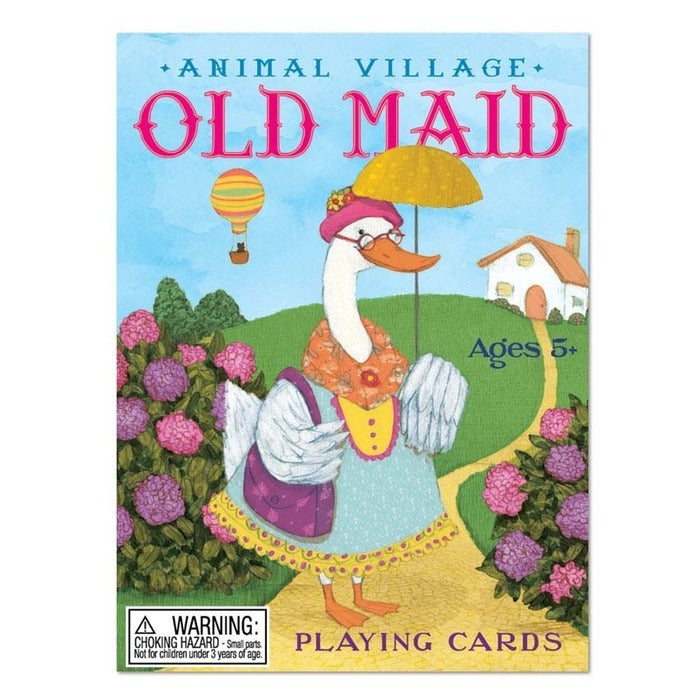 eeBoo: Animal Village - Old Maid Card Game