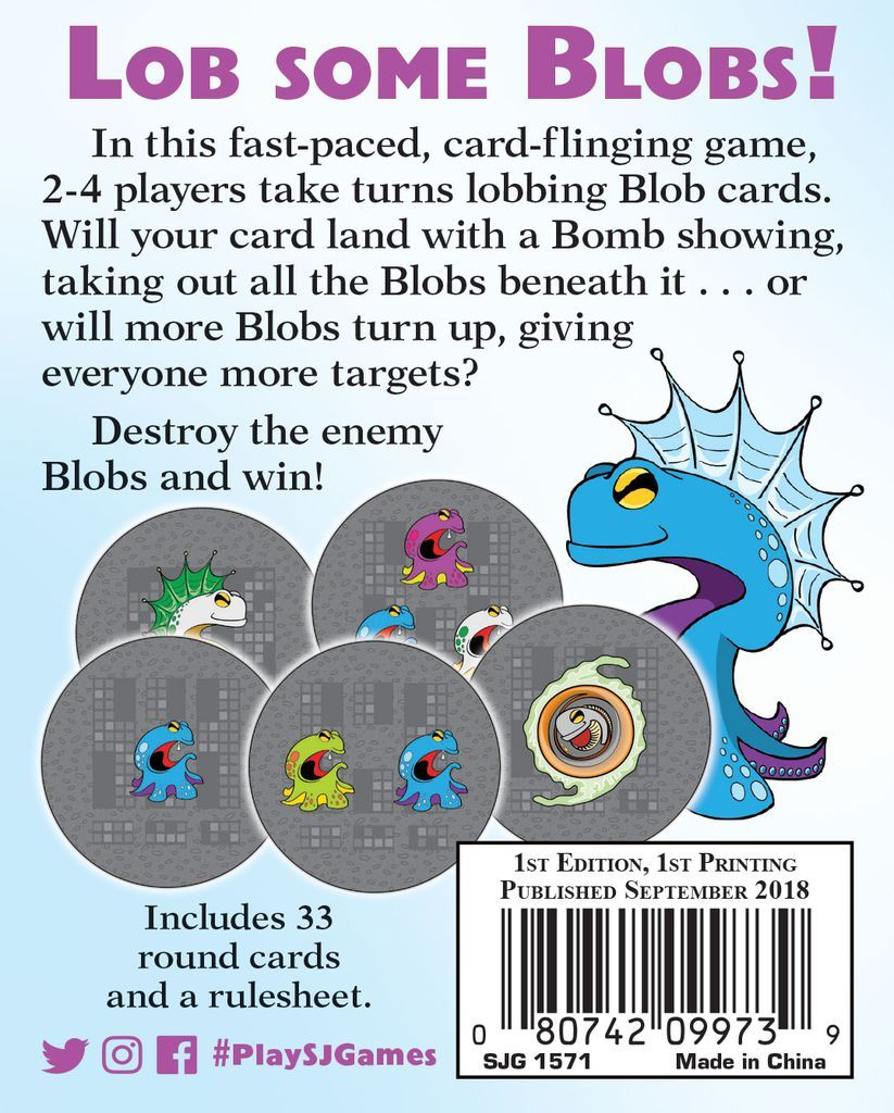 Blob Lobber - Card Game