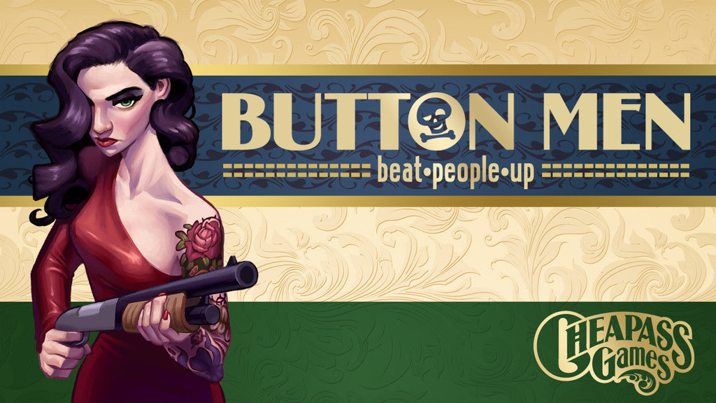 Button Men: Beat People Up - Dice Game