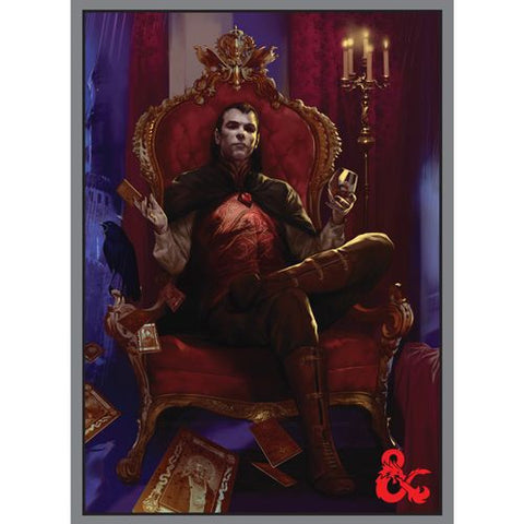 Dungeons and Dragons Count Strahd von Zarovich Standard Sized Sleeves 50ct