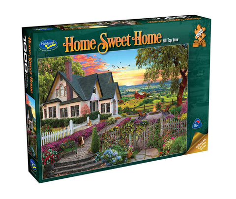 Holdson: 1000 Piece Puzzle - Home Sweet Home (Hill Top View)