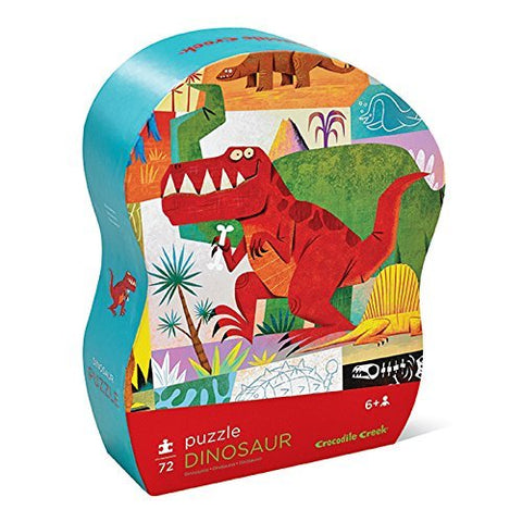 Croc Creek: Junior Shaped Puzzle - Dinosaurs